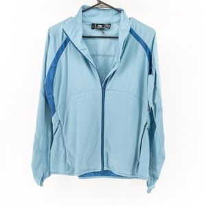 Outdoor Research   Light Blue Hiking Track Jacket